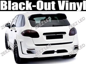 Black-Out Tail Light Tint Vinyl Film