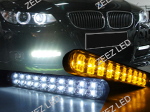 JDM Style 30 LED Daytime Running Light w/ Turn Signals