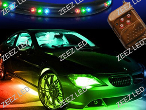 7-Colors LED Neon Light Undercar Kit