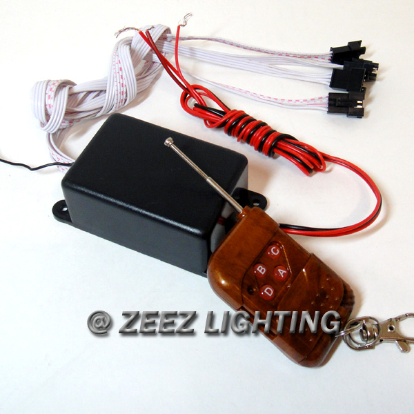 Neon Bar Light Repair: Replacement Control Module Box W/ Remote For LED Undercar
