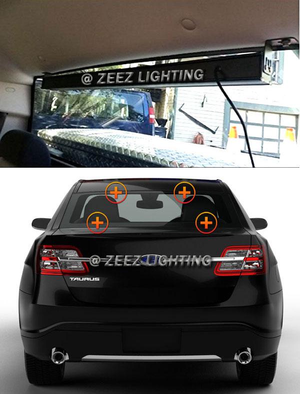 36 amber led traffic advisor emergency warning flash strobe beacon us buyers mozeypictures Image collections