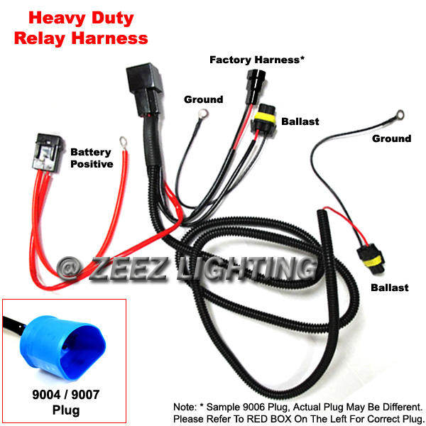 Xenon hid wiring wiring diagram library xenon hid conversion kit relay wiring harness wire upgrade for 9004 rh ebay com xenon hid cheapraybanclubmaster Image collections